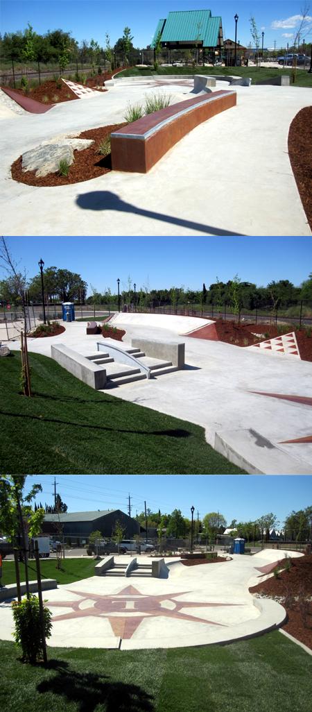 Loomis Skate Plaza
